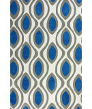 RugStudio presents Nuloom Hand Tufted Rupert Blue Hand-Tufted, Good Quality Area Rug