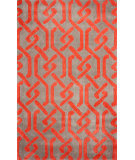 RugStudio presents Nuloom Hand Tufted Joetta Red Hand-Tufted, Good Quality Area Rug