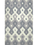 RugStudio presents Nuloom Hand Tufted Pat Grey Hand-Tufted, Good Quality Area Rug