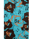 RugStudio presents Nuloom Hand Tufted Evelyn Pool Hand-Tufted, Good Quality Area Rug
