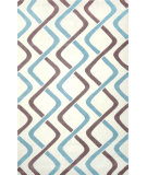 RugStudio presents Nuloom Hand Tufted Blanca Blue Hand-Tufted, Good Quality Area Rug