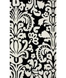 RugStudio presents Nuloom Cine Modern Scroll Ivory Hand-Tufted, Good Quality Area Rug