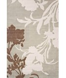 RugStudio presents Nuloom Cine Transitional Floral CACR28 Cloudy Sky Hand-Tufted, Good Quality Area Rug