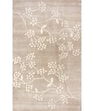 RugStudio presents Nuloom Cine Floral Vine Brown Hand-Tufted, Good Quality Area Rug