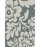 RugStudio presents Nuloom Cine Bold Floral Slate Hand-Tufted, Good Quality Area Rug