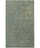 RugStudio presents Nuloom Cine Structures Blue Hand-Tufted, Good Quality Area Rug