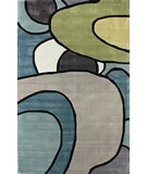 RugStudio presents Nuloom Cine Swoop Multi Hand-Tufted, Good Quality Area Rug