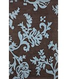 RugStudio presents Nuloom Cine Pasley Print Brown Hand-Tufted, Better Quality Area Rug