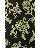 RugStudio presents Nuloom Cine Pasley Print Green Hand-Tufted, Good Quality Area Rug