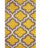 RugStudio presents Nuloom Hand Tufted Zachery Gold Hand-Tufted, Good Quality Area Rug