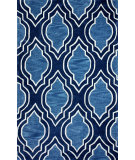 RugStudio presents Nuloom Hand Tufted Anson Blue Hand-Tufted, Good Quality Area Rug