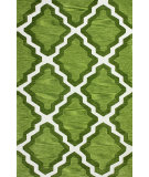 RugStudio presents Nuloom Hand Tufted Inez Green Hand-Tufted, Good Quality Area Rug