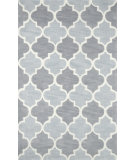RugStudio presents Nuloom Hand Tufted Margaret Grey Hand-Tufted, Good Quality Area Rug