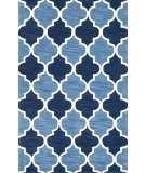 RugStudio presents Nuloom Hand Tufted Margaret Dark Blue Hand-Tufted, Good Quality Area Rug