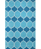 RugStudio presents Nuloom Hand Tufted Doris Blue Hand-Tufted, Good Quality Area Rug