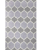 RugStudio presents Nuloom Hand Tufted Doris Grey Hand-Tufted, Good Quality Area Rug