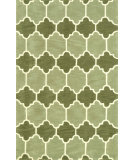 RugStudio presents Nuloom Hand Tufted Doris Green Hand-Tufted, Good Quality Area Rug