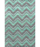 RugStudio presents Nuloom Hand Tufted Soni Green Hand-Tufted, Good Quality Area Rug