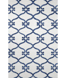 RugStudio presents Nuloom Hand Hooked Tonya Lattice Navy Hand-Hooked Area Rug