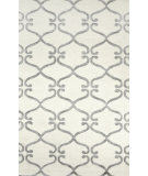 RugStudio presents Nuloom Hand Hooked Tonya Lattice Silver Hand-Hooked Area Rug