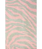 RugStudio presents Nuloom Hand Tufted Marc Pink Hand-Tufted, Good Quality Area Rug