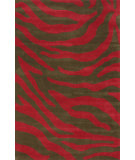 RugStudio presents Nuloom Hand Tufted Marc Red Hand-Tufted, Good Quality Area Rug