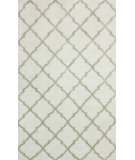 RugStudio presents Nuloom Hand Knotted Mera Ivory Hand-Knotted, Good Quality Area Rug
