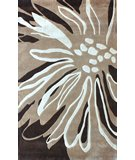 RugStudio presents Nuloom Barcelona Floral Transition Brown Machine Woven, Better Quality Area Rug