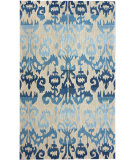 RugStudio presents Nuloom Barcelona Lanterns Blue Hand-Tufted, Good Quality Area Rug