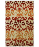 RugStudio presents Nuloom Barcelona Lanterns Rust Hand-Tufted, Good Quality Area Rug
