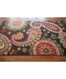 RugStudio presents Nuloom Barcelona Aged Paisley Brown Hand-Tufted, Good Quality Area Rug
