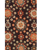 RugStudio presents Nuloom Barcelona Faded Medallions Cocoa Hand-Tufted, Good Quality Area Rug