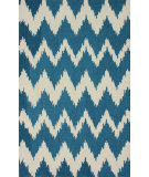 RugStudio presents Nuloom Hand Tufted Clarise Medium Blue Hand-Tufted, Good Quality Area Rug