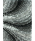 RugStudio presents Nuloom Hand Tufted Twister Grey Hand-Tufted, Good Quality Area Rug