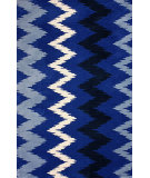 RugStudio presents Nuloom Machine Made Vita Blue Machine Woven, Good Quality Area Rug