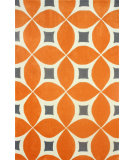 RugStudio presents Nuloom Hand Tufted Alexis Deep Orange Hand-Tufted, Good Quality Area Rug