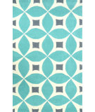 RugStudio presents Nuloom Hand Tufted Alexis Baby Blue Hand-Tufted, Good Quality Area Rug