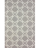 RugStudio presents Nuloom Hand Hooked Collide Grey Taupe Hand-Hooked Area Rug