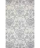 RugStudio presents Nuloom Machine Made Marimar Grey Machine Woven, Good Quality Area Rug