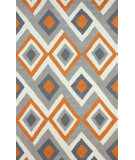 RugStudio presents Nuloom Hand Hooked Marisol Orange Hand-Hooked Area Rug