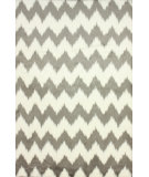 RugStudio presents Nuloom Machine Made Morganna Grey Machine Woven, Good Quality Area Rug