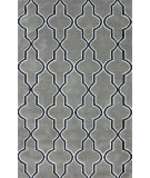 RugStudio presents Nuloom Machine Tufted Tonal Trellis Grey Machine Woven, Good Quality Area Rug