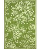 RugStudio presents Nuloom Hand Hooked Cassandra Indoor /Outdoor Green Hand-Hooked Area Rug