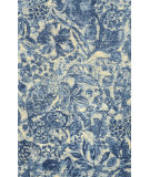RugStudio presents Nuloom Machine Made Adeline Blue Hand-Hooked Area Rug