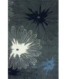 RugStudio presents Nuloom Hand Tufted Sunburst Grey Hand-Tufted, Good Quality Area Rug