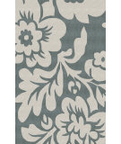 RugStudio presents Nuloom Hand Tufted Bold Floral Slate Hand-Tufted, Good Quality Area Rug