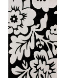 RugStudio presents Nuloom Hand Tufted Bold Floral Black Hand-Tufted, Good Quality Area Rug