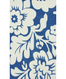 RugStudio presents Nuloom Hand Tufted Bold Floral Royal Blue Hand-Tufted, Good Quality Area Rug