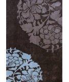 RugStudio presents Nuloom Hand Tufted Sunburst Chocolate Hand-Tufted, Good Quality Area Rug