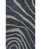 RugStudio presents Nuloom Hand Tufted Rings Blue Hand-Tufted, Good Quality Area Rug